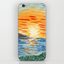North Shore Hawaii Sunset iPhone Skin