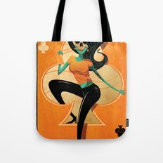 5 of Clubs Tote Bag