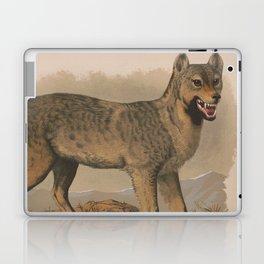 Vintage Illustration of a Gray Wolf (1874) Laptop & iPad Skin