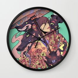 Yokai Wall Clock