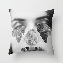 Immune To Emotion  Throw Pillow