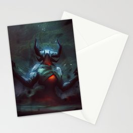 Cloud archdemon Stationery Cards