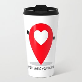 Home is where your heart is Travel Mug