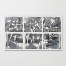 Fade 2 Grey Canvas Print