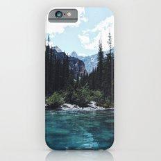 Glacier Creek, Moraine lake Banff Slim Case iPhone 6s