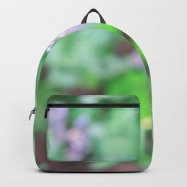 Bee in the Purple Flowers Backpack