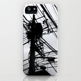 Tokyo wires iPhone Case