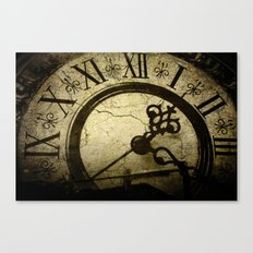 A Crack in Time Canvas Print