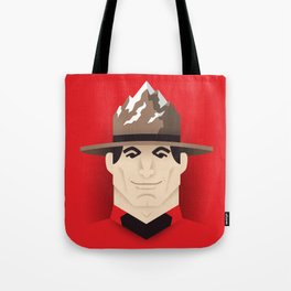 Mountie Tote Bag