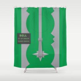 Entrance to the Emerald City Duschvorhang