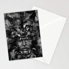 Empress Wolf Stationery Cards