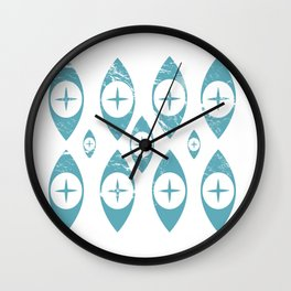 Pyrex Eyes Wall Clock