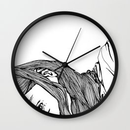 Peep Wall Clock