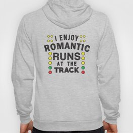 Romantic runs at the track Hoody