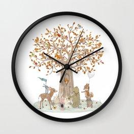 the little oak tree Wall Clock