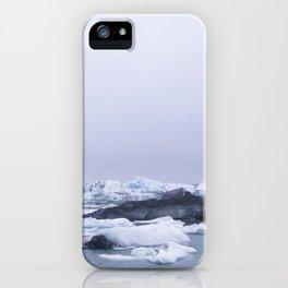 Icelandic Glacier iPhone Case