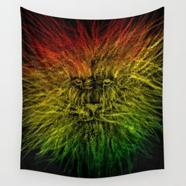 LION-O-CHAIN  Wall Tapestry