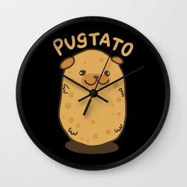 The Pugtato! - Gift Wall Clock