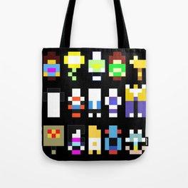 Minimalist undertale characters Tote Bag