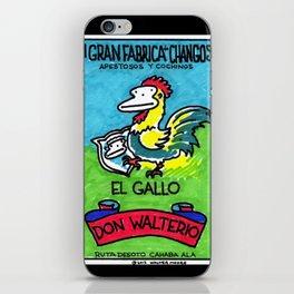 Loteria Ape #1: El Gallo iPhone Skin