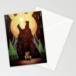 Slow arrow Stationery Cards