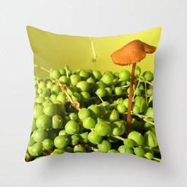MUSHROOMLAND Throw Pillow