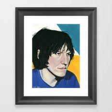 Elliott Smith Framed Art Print
