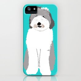 Lucy The Sheepadoodle iPhone Case