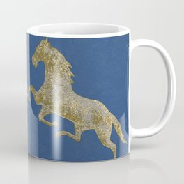Golden Horses Coffee Mug