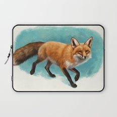 Fox walk Laptop Sleeve