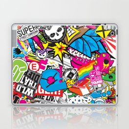 Stickerbomb Laptop & iPad Skin