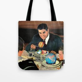 Greek Meatballs Tote Bag