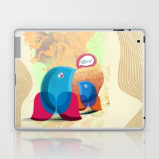 Birds Can Hear... a fox? Laptop & iPad Skin