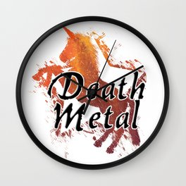 Death Metal Wall Clock