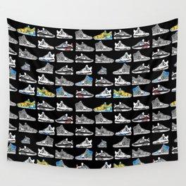 Seek the Sneakers Wall Tapestry