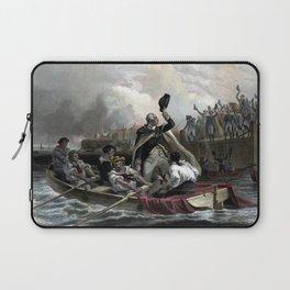 Washington's Adieu To His Generals Laptop Sleeve