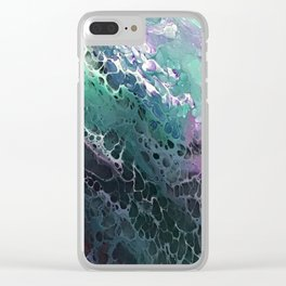 Galaxy Tidal Wave Clear iPhone Case