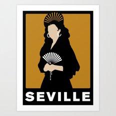 Seville Art Print