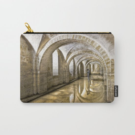Winchester Cathedral Crypt Carry-All Pouch