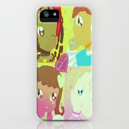 The Fruithouse Four  iPhone Case
