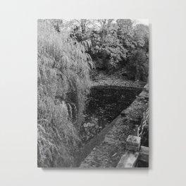 Eltham Palace Moat Metal Print