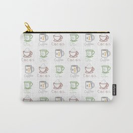 Hot Drinks (Color) Carry-All Pouch