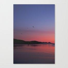 Kites at Dusk Canvas Print