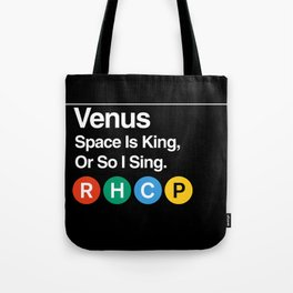 Subway to Venus Tote Bag