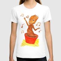 groot T-shirts featuring Baby Groot by gunberk