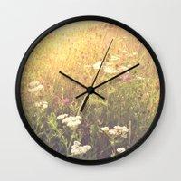 Boho Summer Sunshine Wall Clock