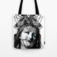 pain Tote Bags featuring PAIN by DIVIDUS