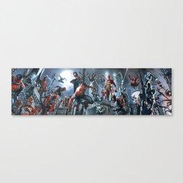 SPIDER-MAN   all togheter Canvas Print