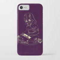 dark side iPhone & iPod Cases featuring Dark Side by yortsiraulo