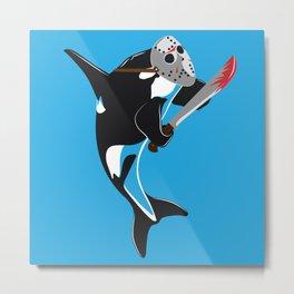 Killer Whale Metal Print